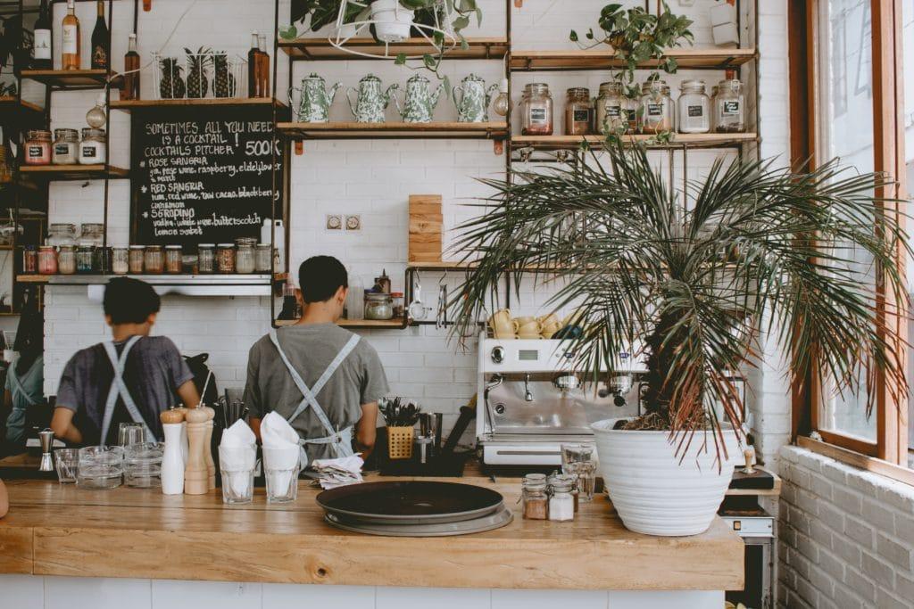 Kassalösning café