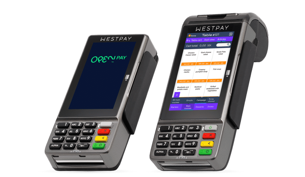 OPEN's payment terminals